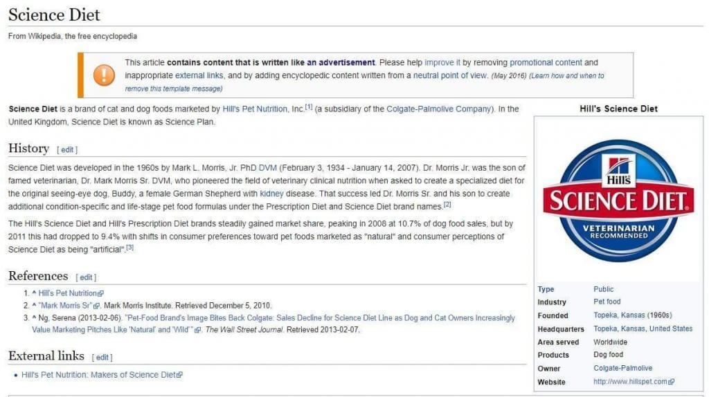 """Reklaminis """"Wikipedia"""" turinys"""