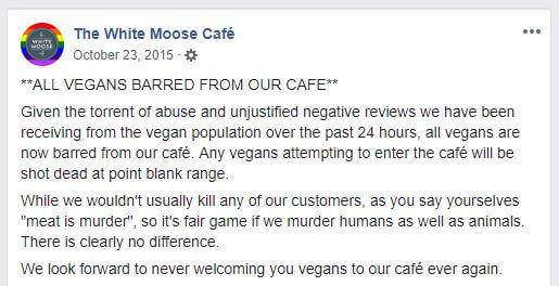 white moose cafe