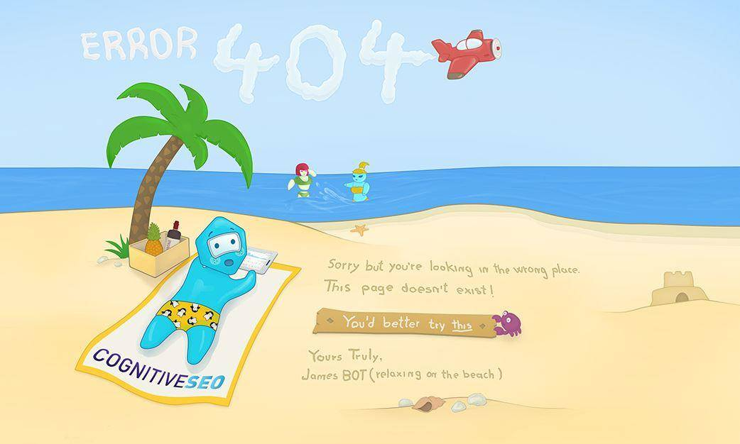 Ejemplo de 404 páginas