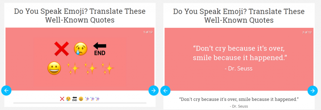 emoji quote
