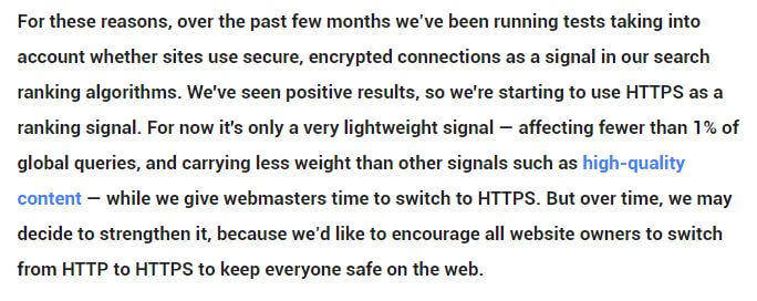 https affects seo