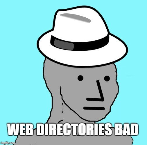 web directories bad for seo