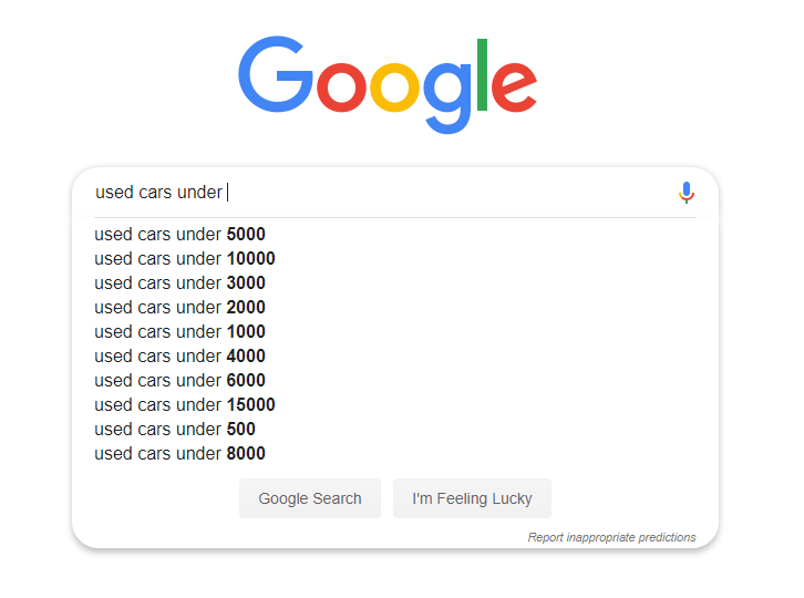 """""""Google"""" briaunoti paieškos raktiniai žodžiai"""