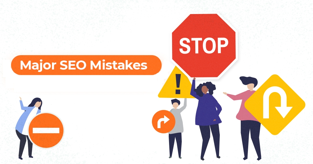 major seo mistakes